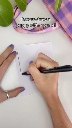 Art Drawings Sketches Simple, Cartoon Drawings, Animal Drawings, Cute Drawings, Drawing Ideas List, Diy Art, Art Crafts, Indie Room Decor, Doodle Art Designs
