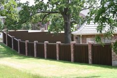Insane Ideas Can Change Your Life: Small Privacy Fence english garden fence. Dog Fence, Brick Fence, Concrete Fence, Front Yard Fence, Farm Fence, Metal Fence, Fenced In Yard, Wood Fences, Glass Fence