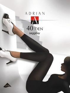 Gładkie legginsy kryjące o długości 3/4, niezwykle delikatne i przyjemne w noszeniu.