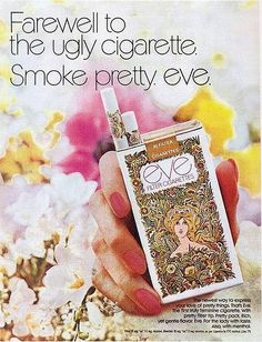 Seems weird pinning to this board but I was fascinated with cigarette packaging and remember these cigs. Thanks big tobacco for marketing so well to children and youth adults.