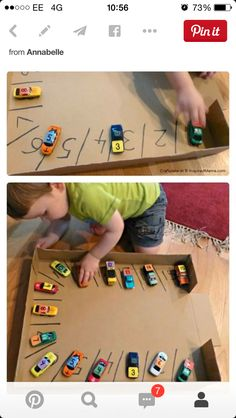 A Car Parking Numbers Game to Make Learning Numbers FUN!: This post was contributed by Georgina of Craftulate. Learning Numbers for Toddlers Learning Numbers, Fun Learning, Inspired Learning, Play Based Learning, In Kindergarten, Preschool Activities, Car Activities For Toddlers, Number Games Preschool, Number Puzzles