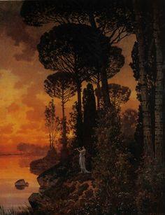 Ferdinand Knab (German, 1834–1902) Title: Römische Landschaft , 1898