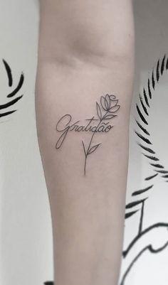 Small Flower Tattoos Reminiscent Of Many Wonderful Things - Page 17 of 19 - Dazhimen Small Flower Tattoos, Small Tattoos, Arrow Tattoos, Tatoos, Mommy Tattoos, Small Meaningful Tattoos, Fine Line Tattoos, Mini Tattoos, Mandala Tattoo