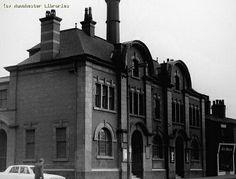 Harpurhey Baths Ashley Lane, Garden Posts, Spring Garden, Post Office, Good Old, Destruction, Baths, Manchester, Past