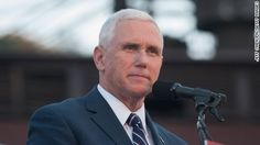 """Indiana Gov. Mike Pence said Monday that he did not consider leaving Donald Trump's presidential ticket, saying it's the """"greatest honor of my life"""" to be nominated by the Republican Party as Trump's running mate."""