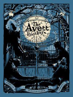 Bright The Avett Brothers 2014 Zeb Love Poster Print Shrine Auditorium Los Angeles Art Prints Art
