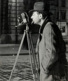 George Brassaï (pseudonym of Gyula Halász) (9 Sep 1899 — 8 Jul 1984) was a Hungarian photographer, sculptor, and filmmaker who rose to international fame in France in the 20th century. One of the numerous Hungarian artists who flourished in Paris beginning between the World Wars. Photographs brought him international fame. In 1948, he had a one-man show at the Museum of Modern Art in New York City, which traveled to the George Eastman House in Rochester NY and the Art Institute of Chicago.