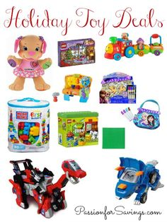 Best Deals on Fisher Price Toys! Hot Holiday Toy Sales for Christmas! Start shopping now for these Kids Deals!