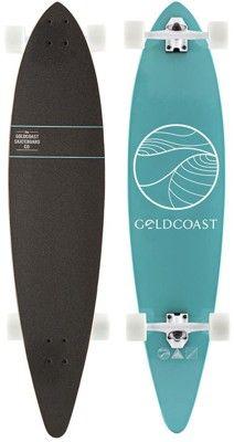 Gold Coast Classic Floater 44 Complete Longboard - turquoise / white trucks / white wheels - Skate Shop  Completes  Longboard Completes