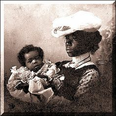 Mother and Child, circa 1890's
