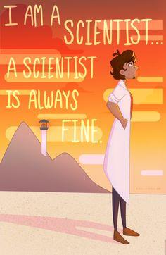 WTNV-A Scientist is Always Fine by MinteaArts on @DeviantArt