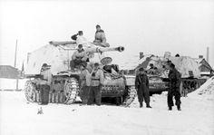 Panzerjäger Nashorn-Hornisse in Vitebsk, Russia.
