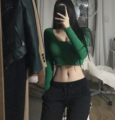 Six abbs For see more of fitness Freaks visit us on our website ! Mode Outfits, Korean Outfits, Girl Outfits, Fashion Outfits, Boho Fashion, Vintage Fashion, Fashion Tips, Skinny Girl Body, Skinny Girls