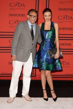 The Style of the 2013 CFDA Awards: Stuart Weitzman and Miranda Kerr in Proenza Schouler