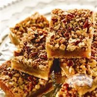 #Pecan Pie Squares from Martha White®