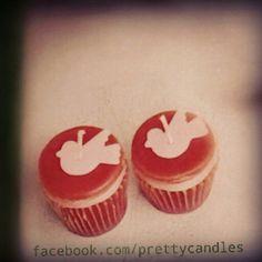 Cupcake candles-birdies