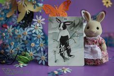 Eight of Pentacles - The Rabbit Tarot