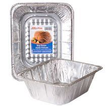 50 Pack  Deep Foil Roaster Pans >>> You can find more details by visiting the image link.(This is an Amazon affiliate link and I receive a commission for the sales)