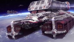 ArtStation - Space Feighter Personal Artwork, Frank Capezzuto III