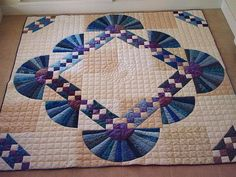 Image result for dresden fan shaped quilts