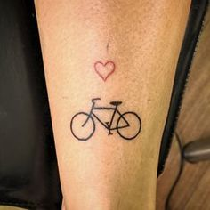For cyclists. | Community Post: 19 Perfect Tiny Tattoos That Prove Size Doesn't Matter