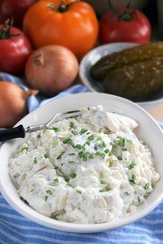 Potato Salad, Potatoes, Cooking, Ethnic Recipes, Food, Recipies, Kitchen, Potato, Essen
