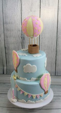 Hot Air Balloon Cake                                                                                                                                                                                 More