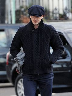 David Beckham Pops Up in Paris and London While Posh Preps For NYFW   Click for more pictures!