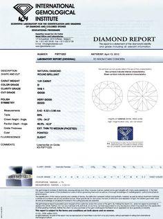 Foto 9, Diamant 1,01Carat Brillant River D, VVS1, IGI Expertise, D6037
