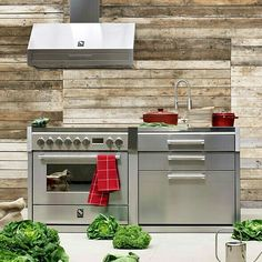 steel freestanding kitchen from httpwwwsteel cucinecom
