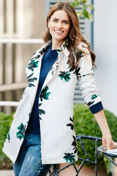Spring Jackets for Women - Jacket Styles for Spring 2016 - A Playful Trench - When it comes to boosting your mood—and sharpening your look—this cheerful number is aces. Bonus: The cinched shape will play up your waist. Who What Wear jacket, $44.99; target.com. Click through redbookmag.com for more spring jackets that are anything but average.