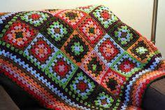 crochet baby blanket granny squares - Google Search