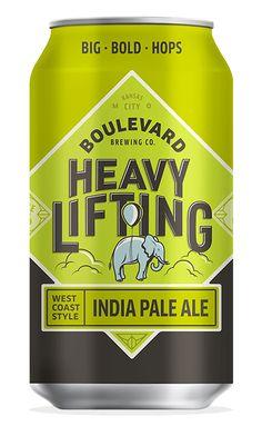 Boulevard Brewing CompanyHeavy Lifting I.P.A. – Boulevard Brewing Company