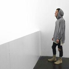 Hoodie: Enfinleve Tee: FOG Denim: Zara Boots: Palladium_Boots