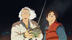 Back to the Future x Ghibli by Henny (Gorillaprut)