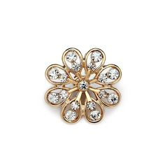 $4.95  Floral Lapel Pin Gold