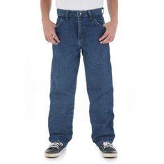 Rustler - Husky Boys' Loose Fit Jeans, Blue