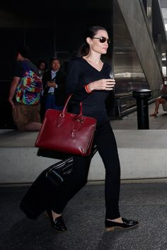 Angelina Jolie Pitt in Everlane's Modern Loafer - Vogue