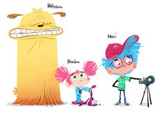 Characters / Jullian Rossire - Maxi & Mimiko