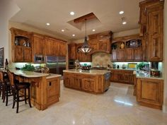 photos of gourmet kitchens | Luxury gourmet kitchen | For the Home