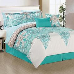Manhattan Heights Venezia 10 Piece Comforter Set & Reviews | Wayfair