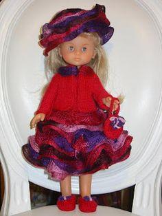 Mes Loisirs Créatifs: ARIANA : poupée Chérie Tricot