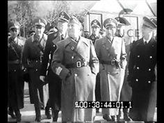 Kvaternik a Roma -Il Duce e il maresciallo Kvaternik visitano una nostra...