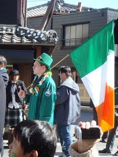 ST.PATRICK'S DAY PARADE IN ISE ,JAPAN
