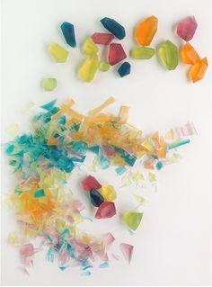 DIY Glycerine Soap Gem Stones - Mr Printables