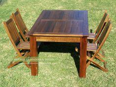 mesas chicas de madera