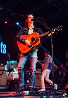 Alex Turner performing with The Last Shadow Puppets on weekend 2 of Coachella, 2016