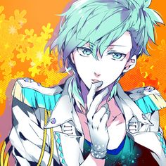 I really like that shad of blue... UtaPri ~~ Mikaze Ai