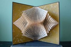 From The Exploded Library, Folded Book Sculpture art, Chicago Flea Market
