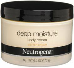 Neutrogena Comforting Butter Body Cream, Butter Cream, 6 oz. $8.53